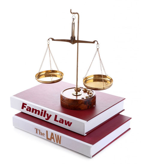 Family law and books